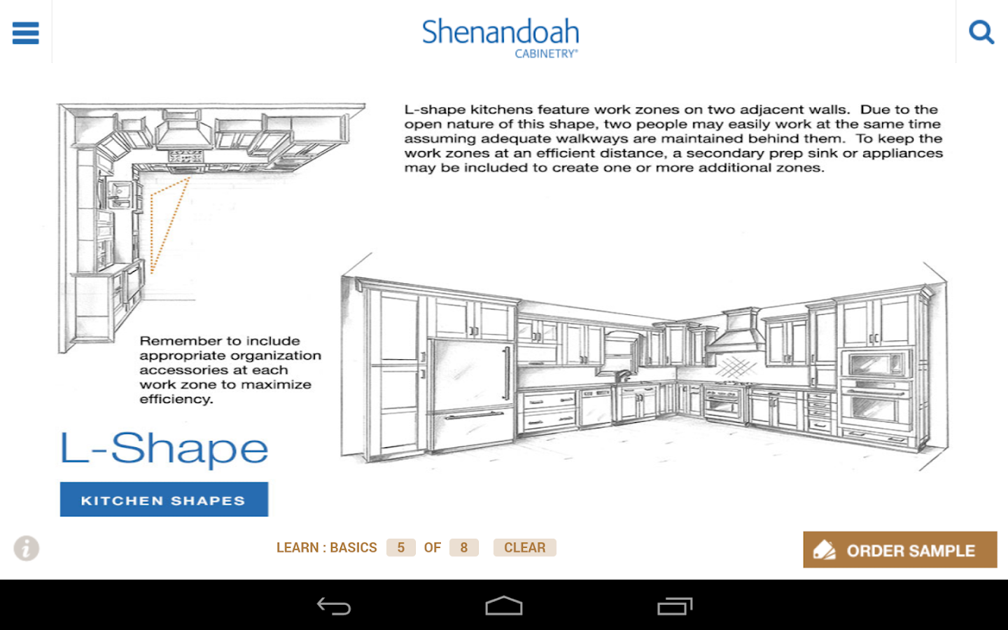 Shenandoah Cabinetry- screenshot