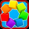 Color Match 3 Square 3D Free icon