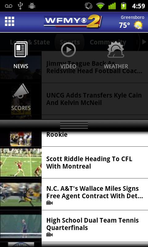 WFMY - screenshot