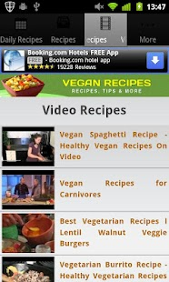 Vegan Recipes! - screenshot thumbnail