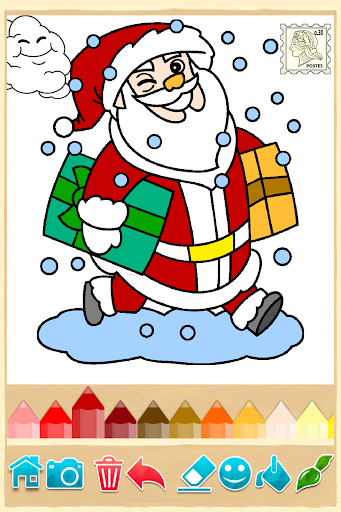 【免費家庭片App】聖誕節著色頁-APP點子