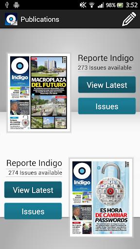 Indigo News Stand