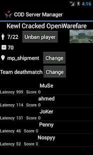 Game Server Manager - náhled