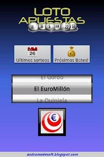 LotoApuestas Pro- screenshot thumbnail