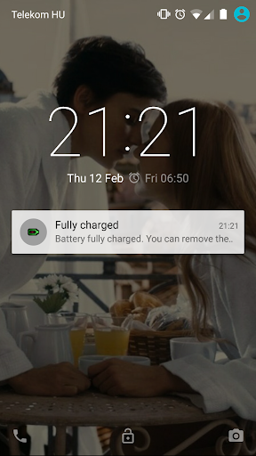 Fully Charged Notifier