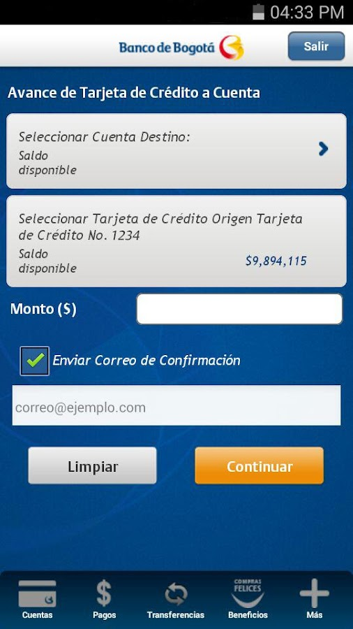 Banco de bogot aplicaciones android en google play for Banco de bogota