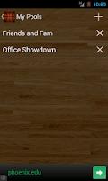 Screenshot of Bracket Tracker