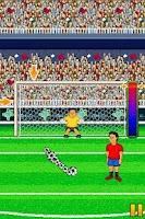 Screenshot of Nano Penalty World Cup