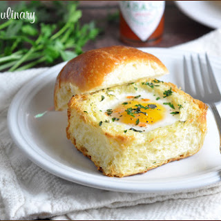 Toasted Brioche Egg Cups.
