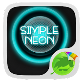 Simple Neon Keyboard