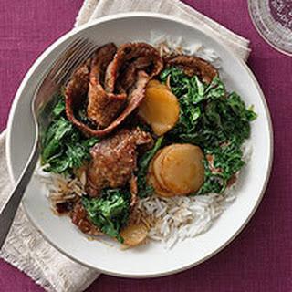 Beef & Kale Stir-Fry.