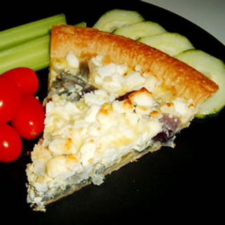 Red Onion and Goat Cheese Tart