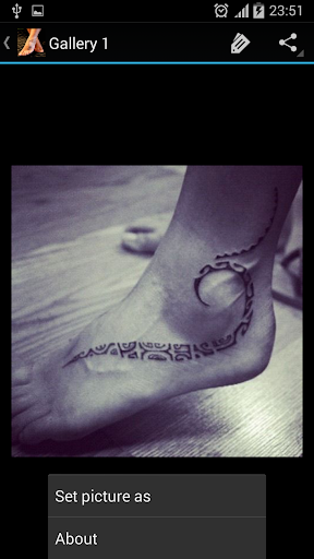 腳紋身的想法