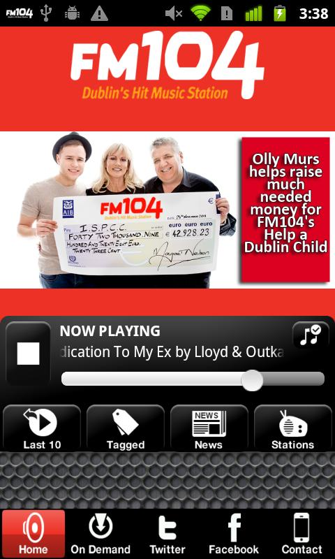 Dublin's FM104 - screenshot