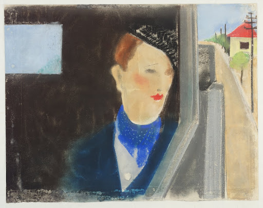 Lady in a Car