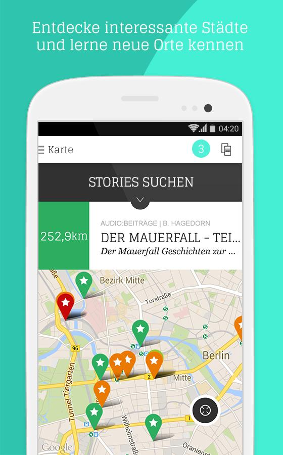 audioguideMe Stories- screenshot