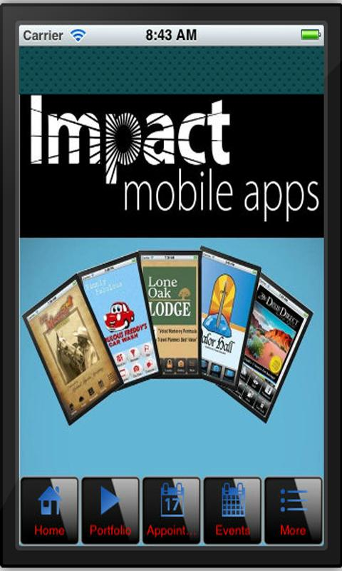 Impact Mobile Apps - screenshot