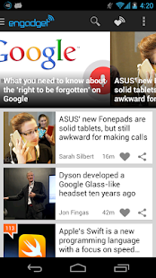 Engadget- screenshot thumbnail