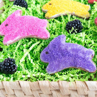 Whole Wheat Blackberry Easter Cookies.