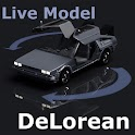 FGG Live Model DeLorean logo