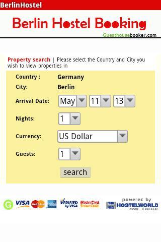 Berlin Hostel Booking