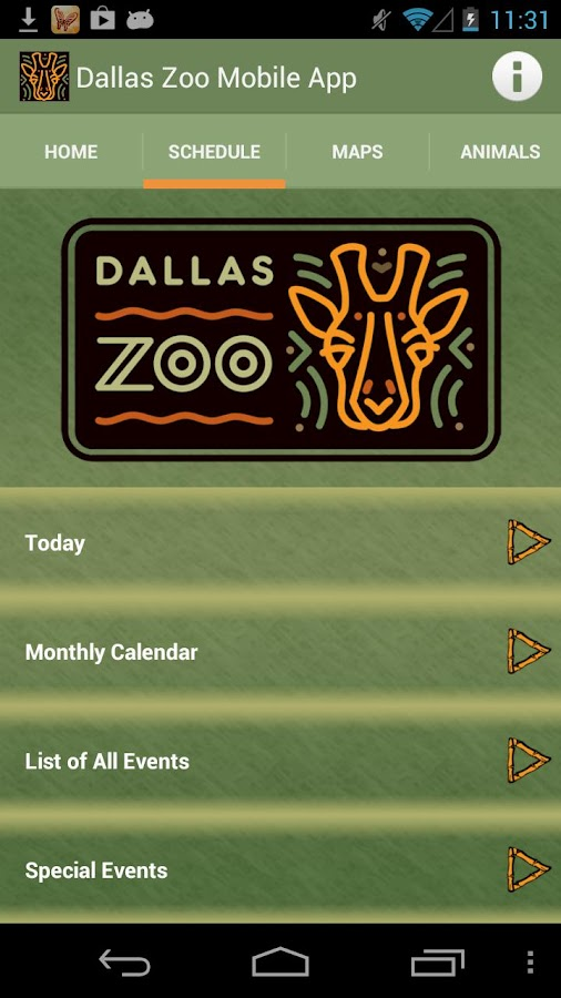 Dallas Zoo - screenshot