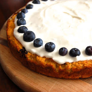 Gluten-Free Blueberry Lemon Cake.