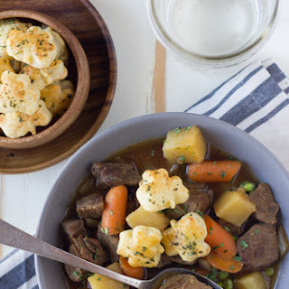 Irish Beef Stew With Shamrock Croutons