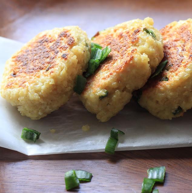 Quinoa Croquettes with Fresh Goat Cheese Recipe