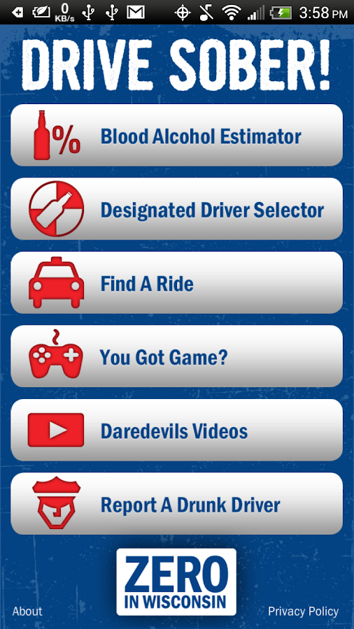 Drive Sober- screenshot