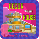 Design your House - girl game icon