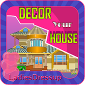Design your House - girl game