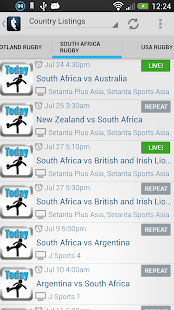Live Rugby On TV - screenshot thumbnail