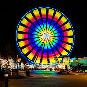 Ferris Wheel by Sandra Clukey - City,  Street & Park  Amusement Parks ( tn, amusement park, cleveland tennessee photographer, photographer, tennessee, tennessee photographer, gatlinburg, sandra clukey, sandra clukey photography, ferris wheel )