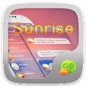 GO SMS PRO SUNRISE THEME icon