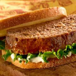 Hearty Meatloaf Sandwich.