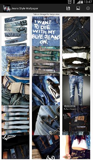Jeans Style Wallpaper