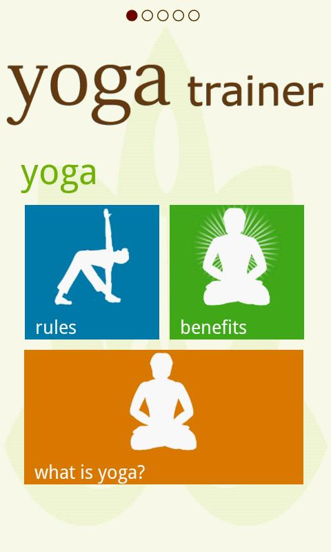 Yoga Trainer - For your Health- screenshot
