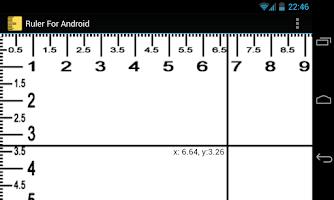 Screenshot of ruler free