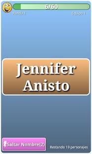 Adivina el personaje Famosos - screenshot thumbnail