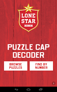 Lone Star Puzzle Caps Decoder- screenshot thumbnail