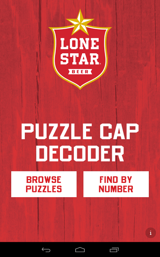 Lone Star Puzzle Caps Decoder - screenshot
