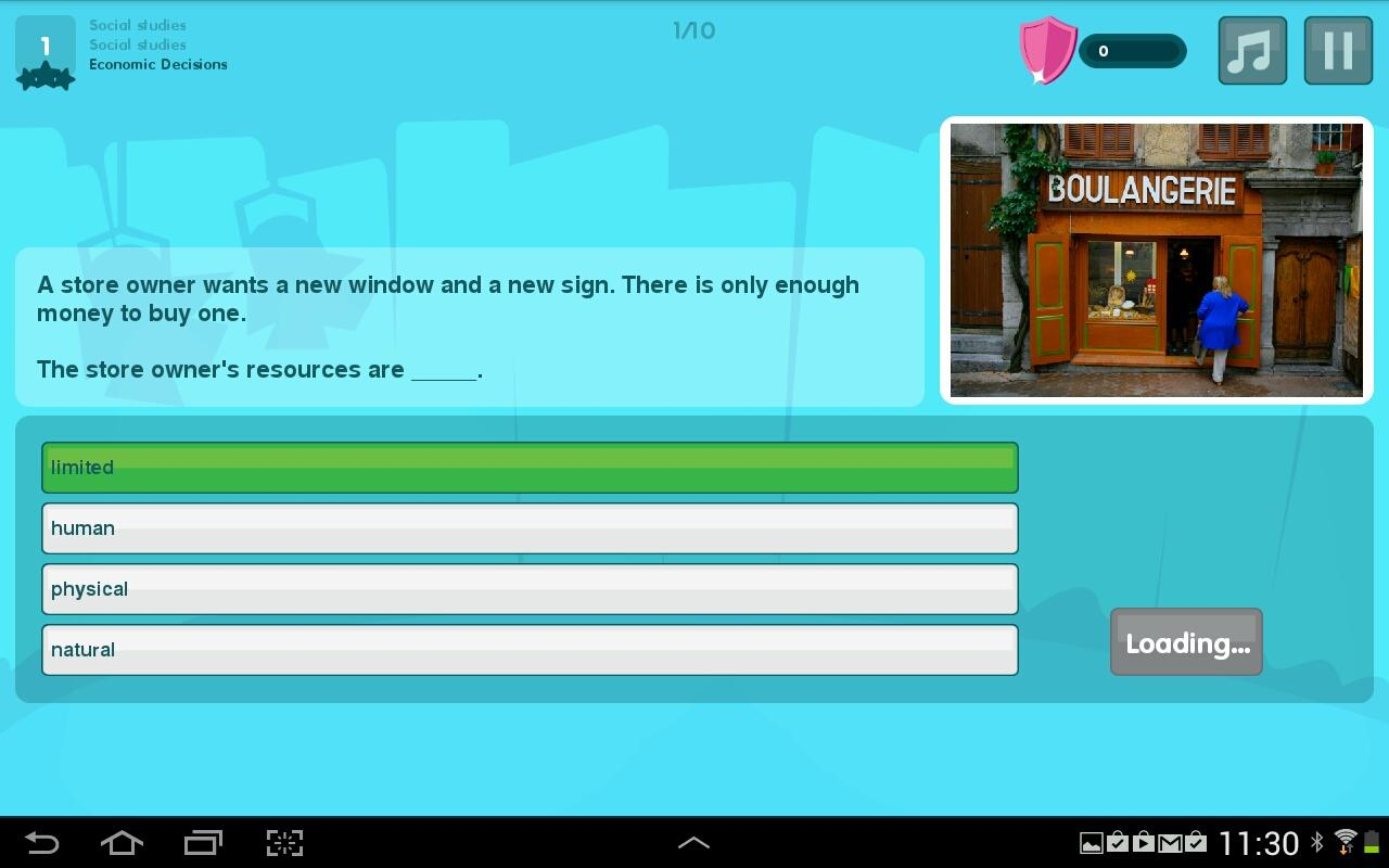 Squla Quiz App for Grades 2-6 - screenshot