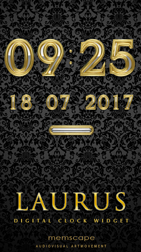 LAURUS Digital Clock Widget