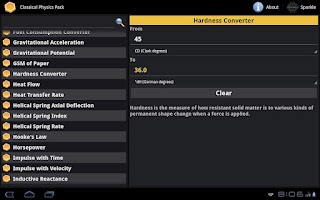 Screenshot of Classical Physics Pack Tablet