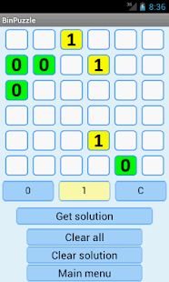 Binary Puzzle Solver Lite - screenshot thumbnail