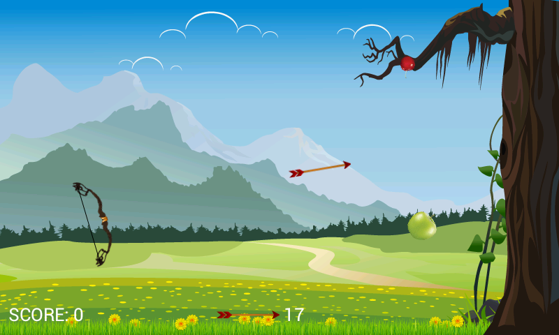 Fruit Archery I - screenshot