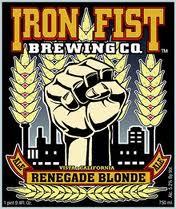 Logo of Iron Fist Renegade Blonde