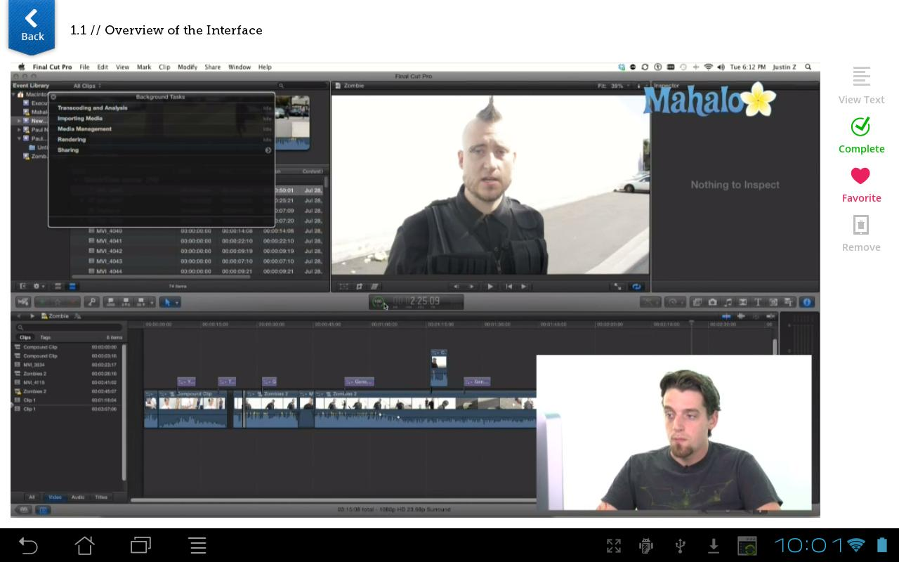 Learn Final Cut Pro X FREE - screenshot