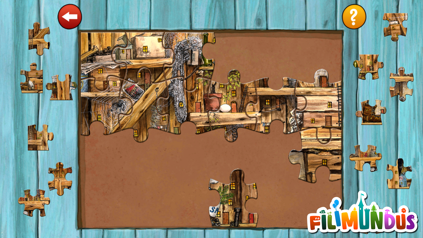 Pettson's Jigsaw Puzzle- screenshot